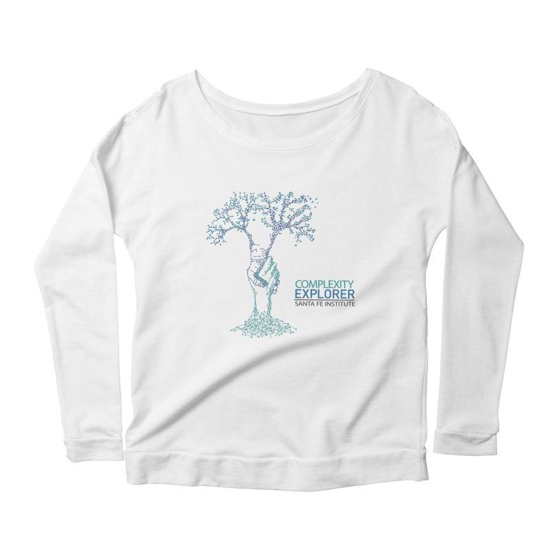 The Trand (light shirts)  Women's Scoop Neck Longsleeve T-Shirt by Complexity Explorer Shop
