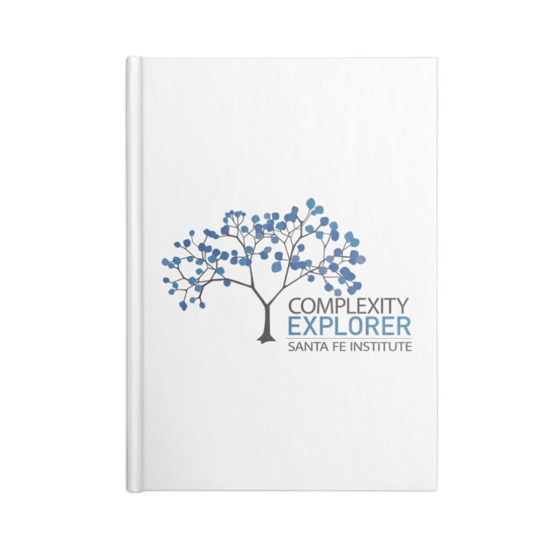 The Classic (Light shirts) Accessories Lined Journal Notebook by Complexity Explorer Shop