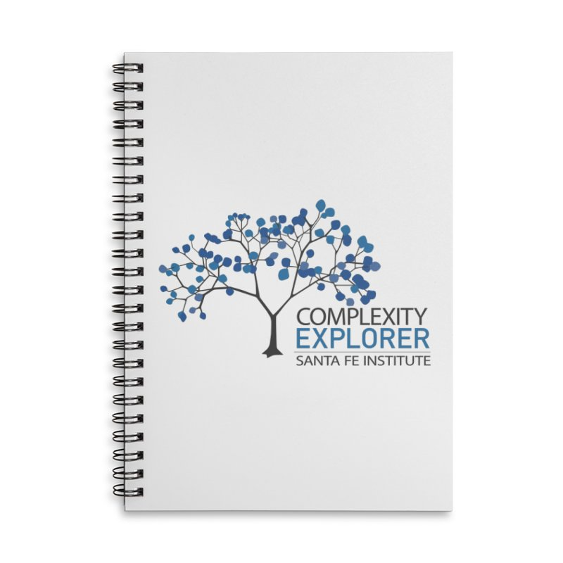 The Classic (Light shirts) Accessories Lined Spiral Notebook by Complexity Explorer Shop