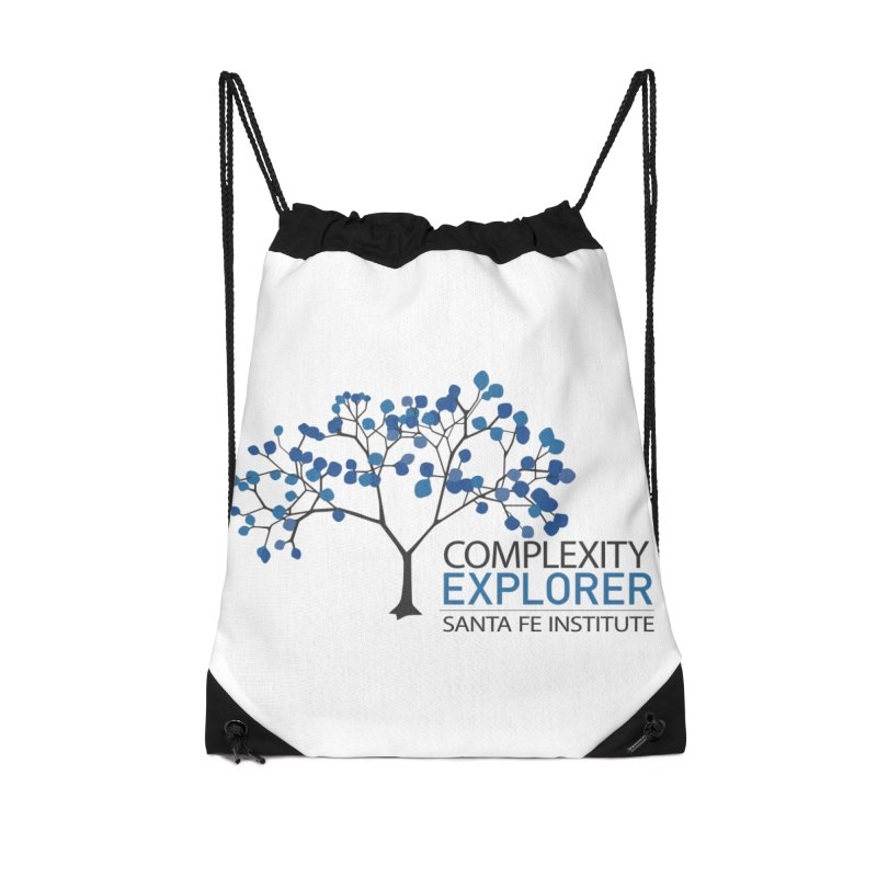 The Classic (Light shirts) Accessories Drawstring Bag Bag by Complexity Explorer Shop