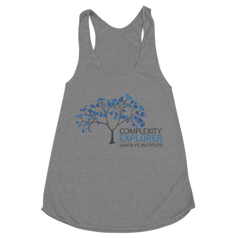 The Classic (Light shirts) Women's Racerback Triblend Tank by Complexity Explorer Shop