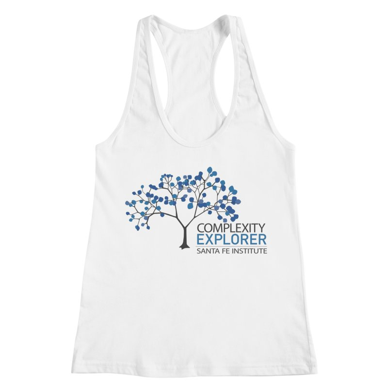 The Classic (Light shirts) Women's Racerback Tank by Complexity Explorer Shop