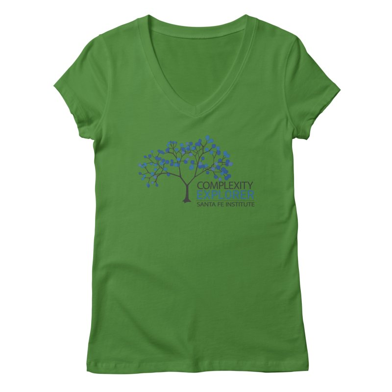The Classic (Light shirts) Women's Regular V-Neck by Complexity Explorer Shop
