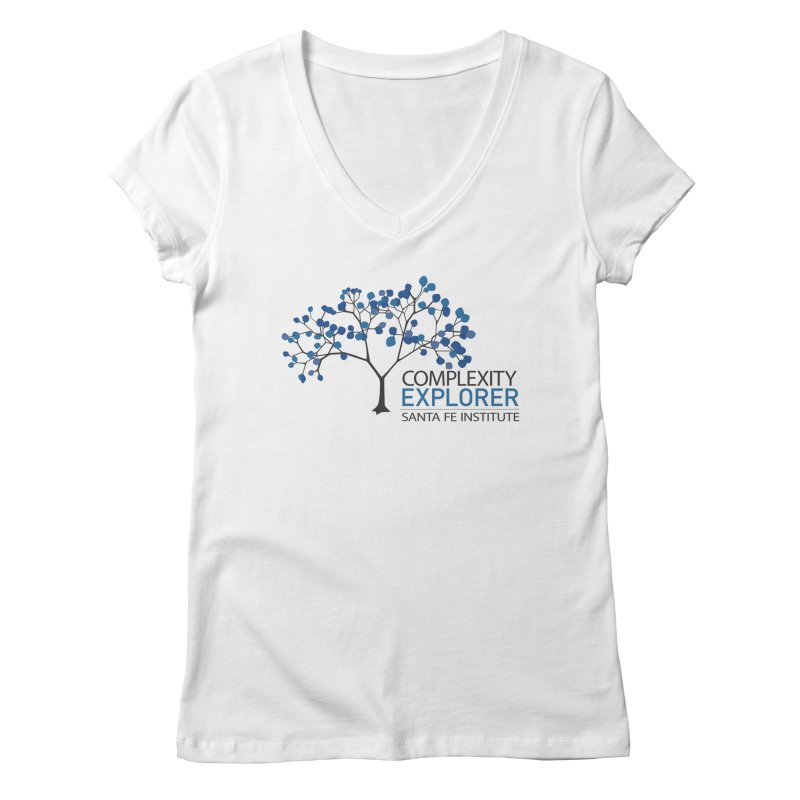 The Classic (Light shirts) Women's Regular V-Neck by Complexity Explorer Shop
