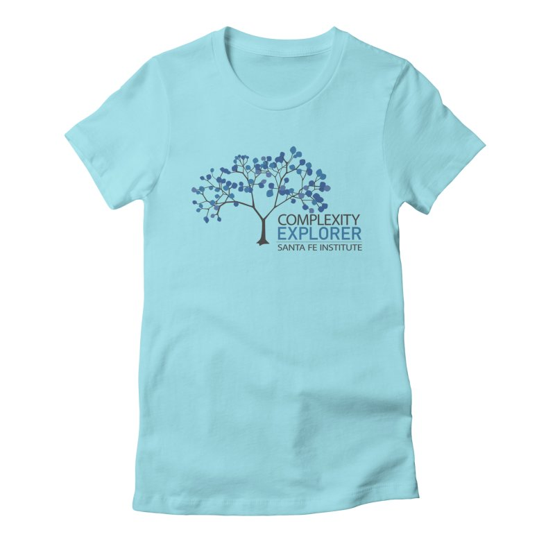 The Classic (Light shirts) Women's Fitted T-Shirt by Complexity Explorer Shop