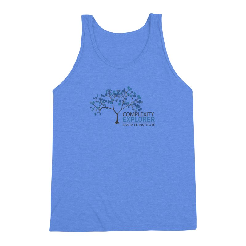 The Classic (Light shirts) Men's Triblend Tank by Complexity Explorer Shop