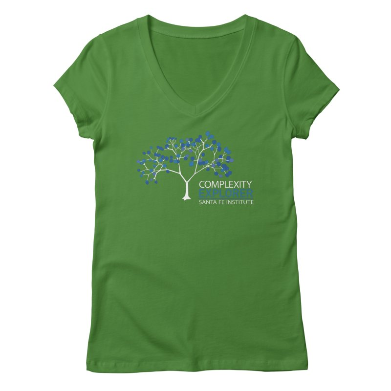 The Classic Women's Regular V-Neck by Complexity Explorer Shop