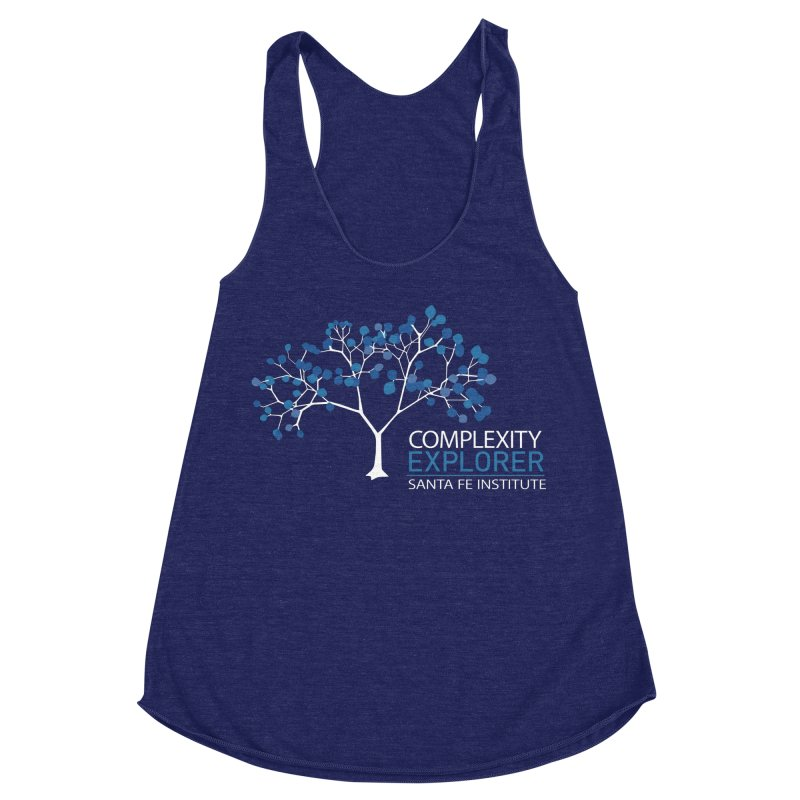 The Classic Women's Racerback Triblend Tank by Complexity Explorer Shop