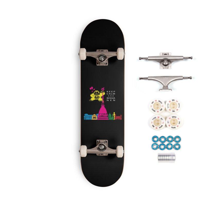 Keep Calm and Bogia Nen Accessories Complete - Premium Skateboard by Lospaccio Conamole