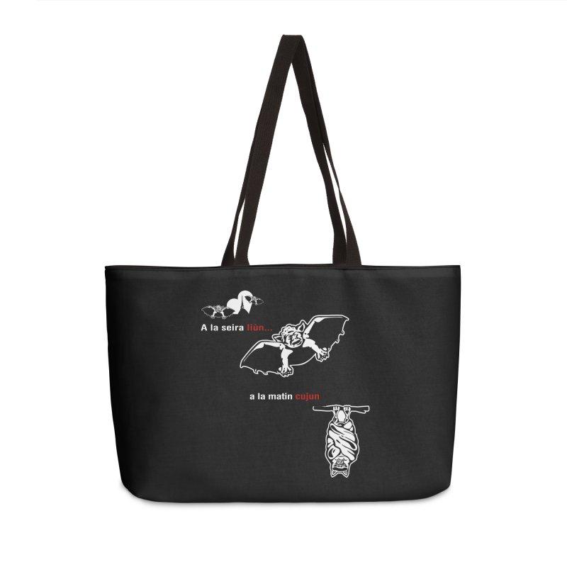 A la Seira Liùn...a la Matin Cujun Accessories Weekender Bag Bag by Lospaccio Conamole