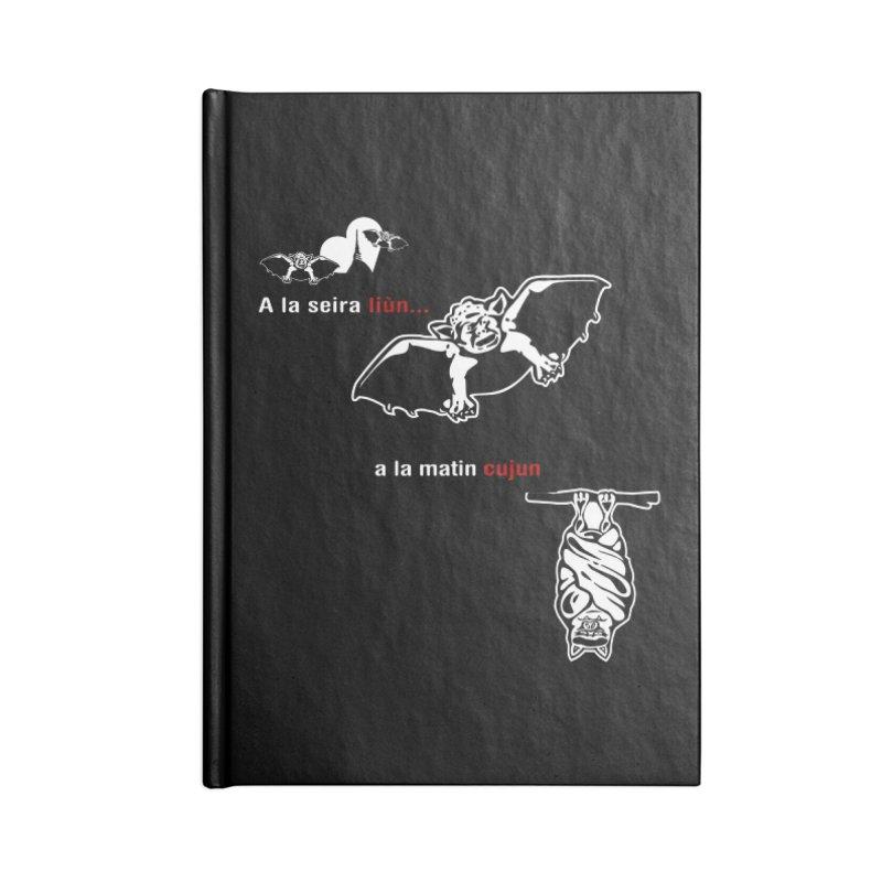 A la Seira Liùn...a la Matin Cujun Accessories Lined Journal Notebook by Lospaccio Conamole