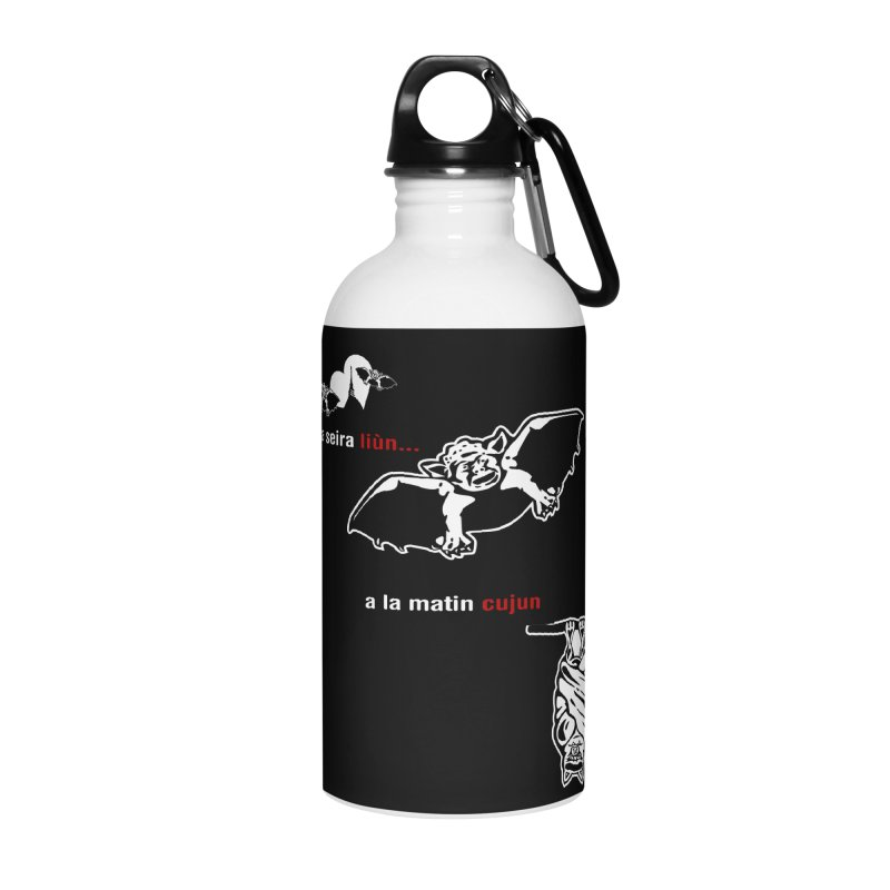 A la Seira Liùn...a la Matin Cujun Accessories Water Bottle by Lospaccio Conamole