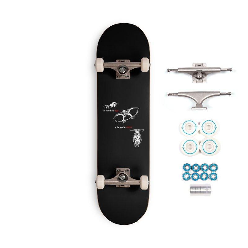 A la Seira Liùn...a la Matin Cujun Accessories Complete - Basic Skateboard by Lospaccio Conamole