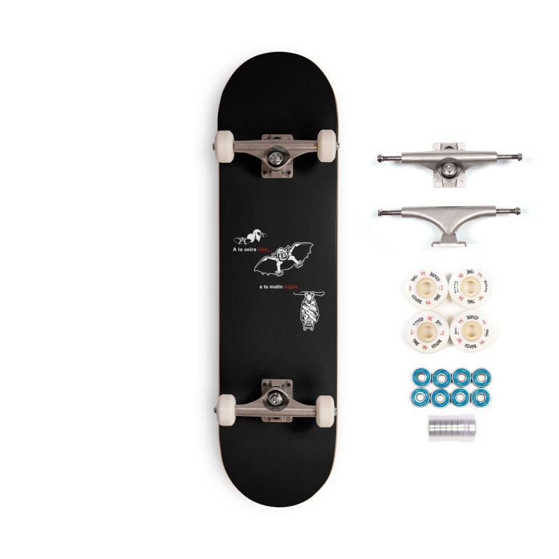 A la Seira Liùn...a la Matin Cujun Accessories Complete - Premium Skateboard by Lospaccio Conamole