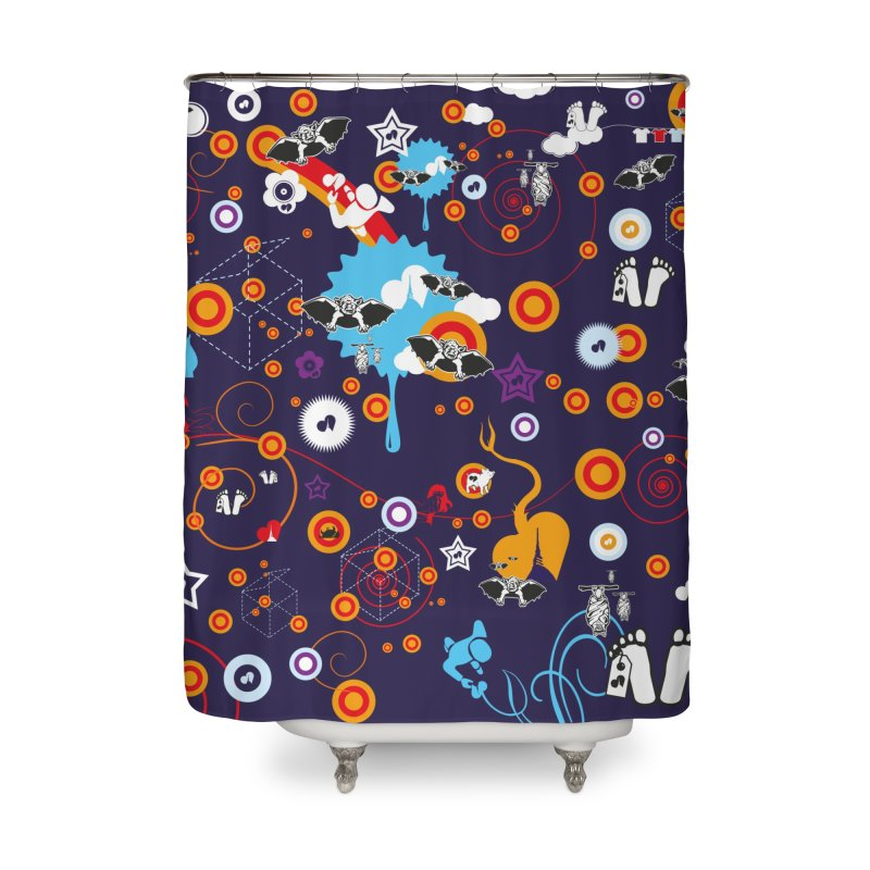 Giargiantolerie Home Shower Curtain by Lospaccio Conamole