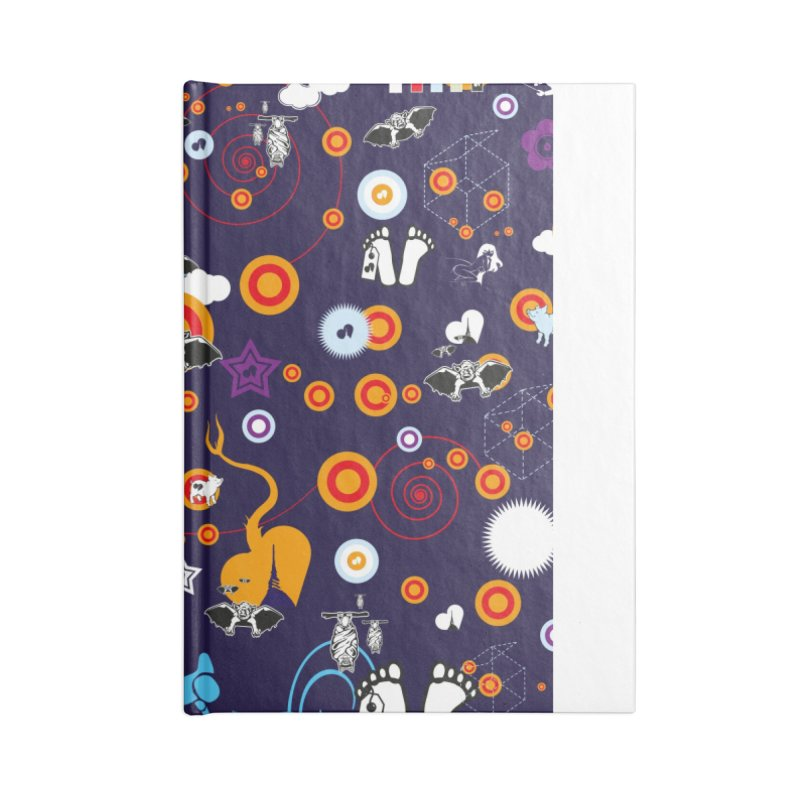 Giargiantolerie Accessories Lined Journal Notebook by Lospaccio Conamole