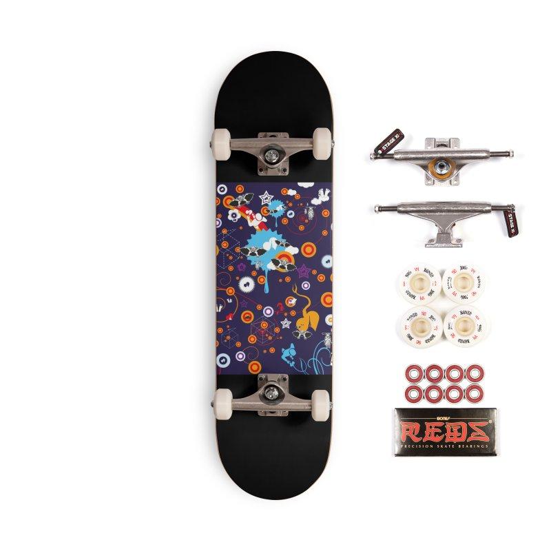 Giargiantolerie Accessories Complete - Pro Skateboard by Lospaccio Conamole