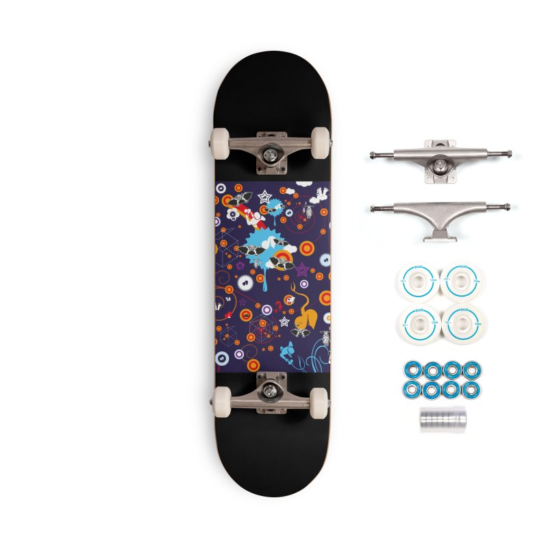Giargiantolerie Accessories Complete - Basic Skateboard by Lospaccio Conamole