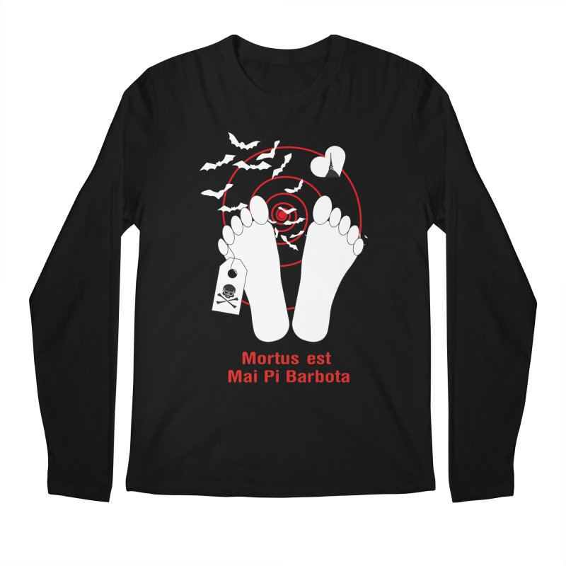 Mortus est mai pi barbota Men's Regular Longsleeve T-Shirt by Lospaccio Conamole