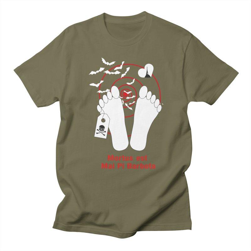Mortus est mai pi barbota Men's Regular T-Shirt by Lospaccio Conamole
