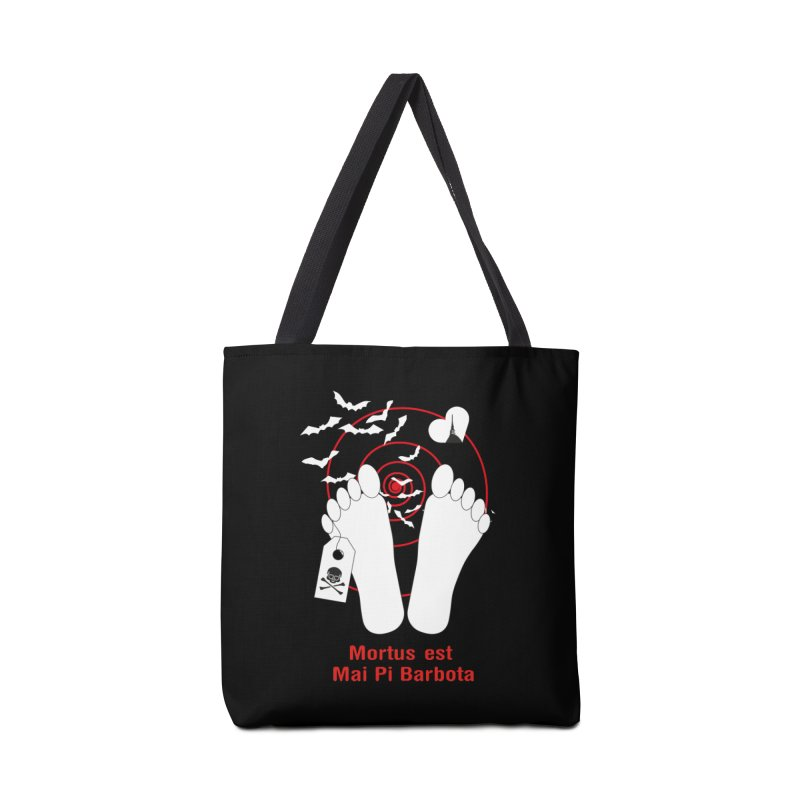 Mortus est mai pi barbota Accessories Tote Bag Bag by Lospaccio Conamole