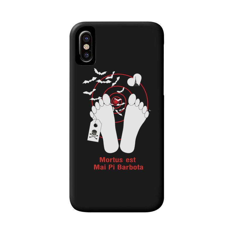 Mortus est mai pi barbota Accessories Phone Case by Lospaccio Conamole