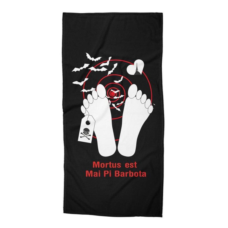 Mortus est mai pi barbota Accessories Beach Towel by Lospaccio Conamole