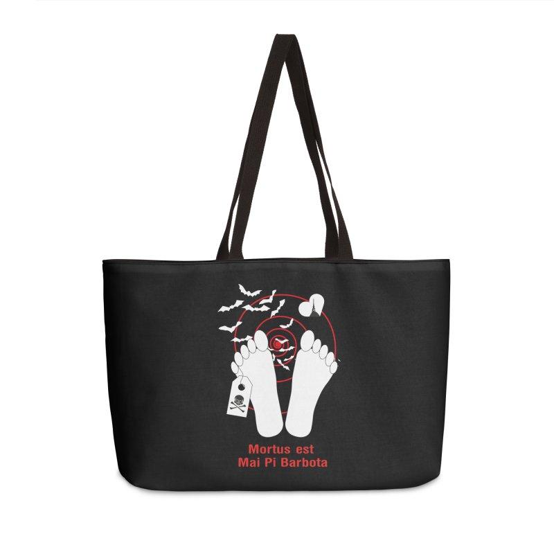 Mortus est mai pi barbota Accessories Weekender Bag Bag by Lospaccio Conamole