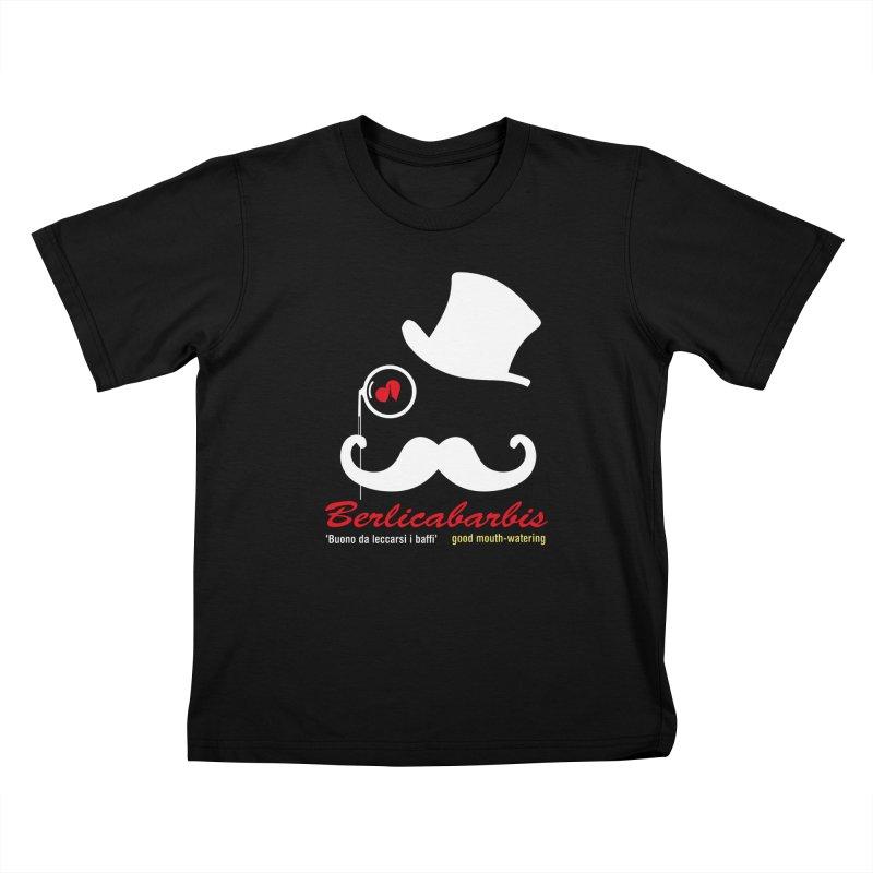 Berlicabarbis Kids T-Shirt by Lospaccio Conamole