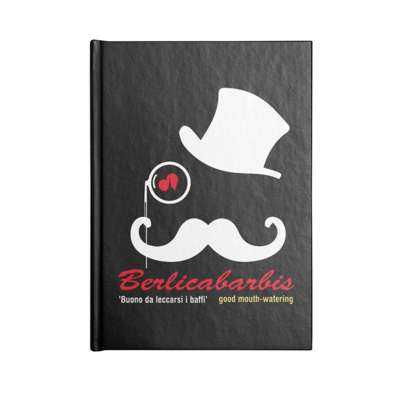 Berlicabarbis Accessories Lined Journal Notebook by Lospaccio Conamole
