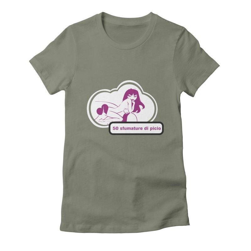 5o sfumature di picio Women's Fitted T-Shirt by Lospaccio Conamole