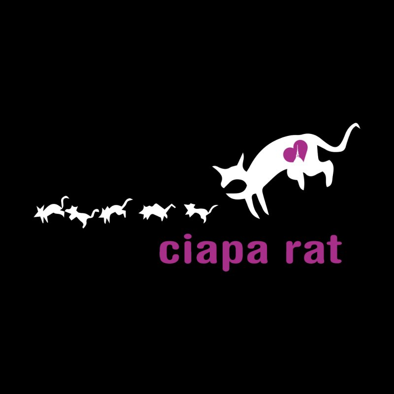 ciapa rat Home Stretched Canvas by Lospaccio Conamole