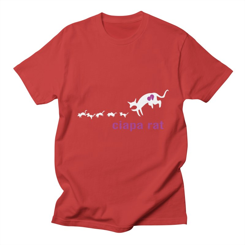 ciapa rat Men's Regular T-Shirt by Lospaccio Conamole