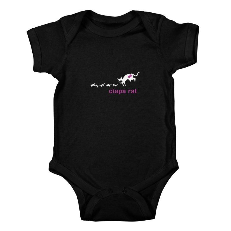 ciapa rat Kids Baby Bodysuit by Lospaccio Conamole