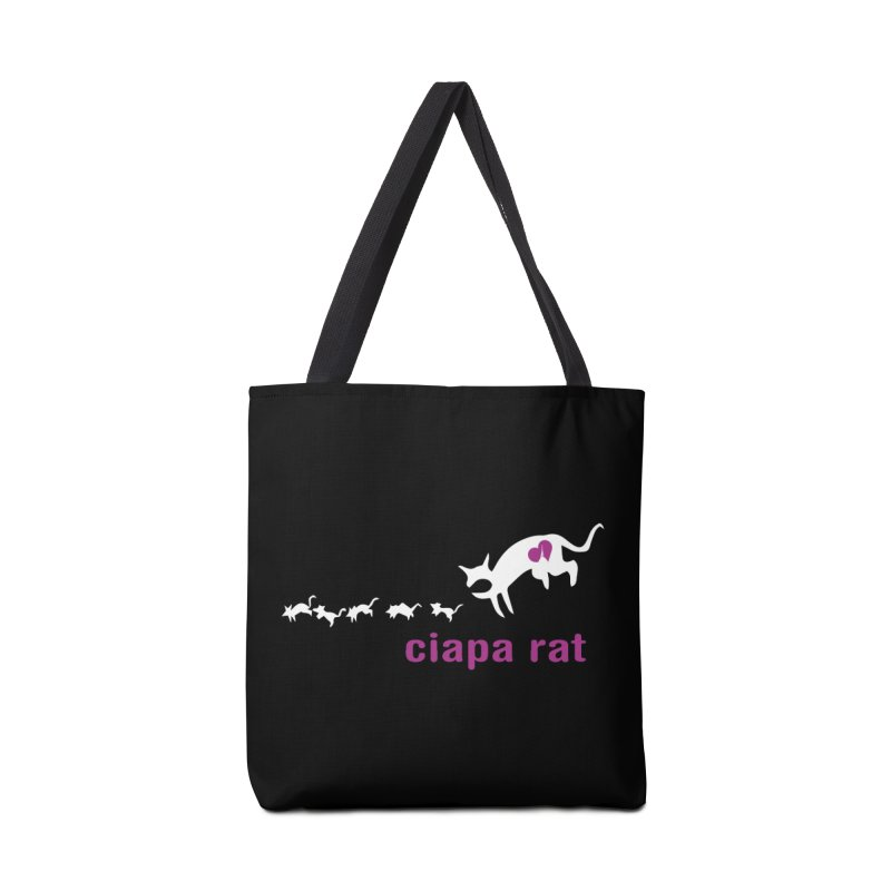 ciapa rat Accessories Tote Bag Bag by Lospaccio Conamole