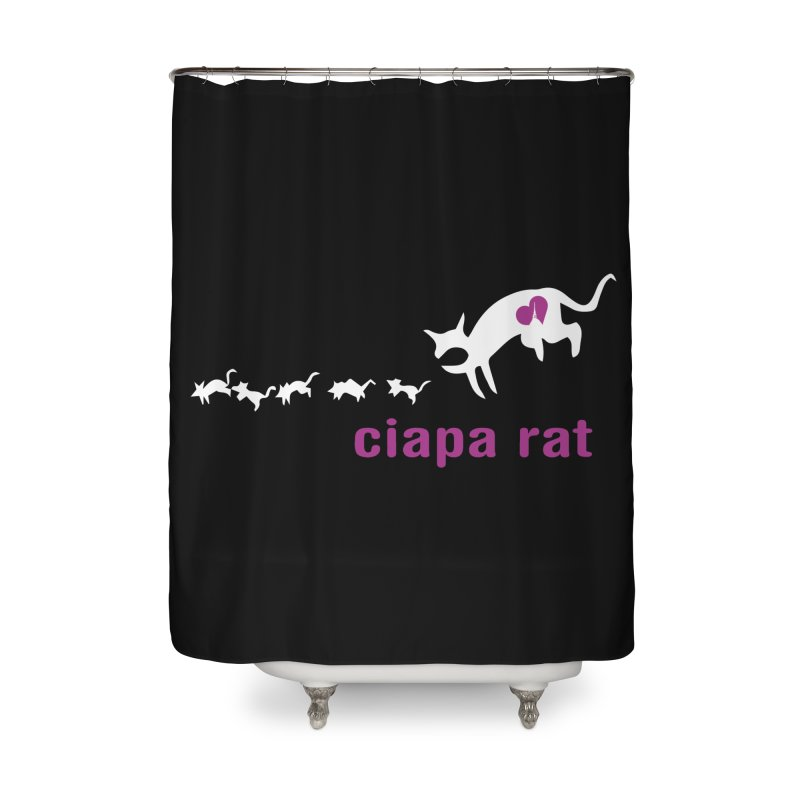 ciapa rat Home Shower Curtain by Lospaccio Conamole