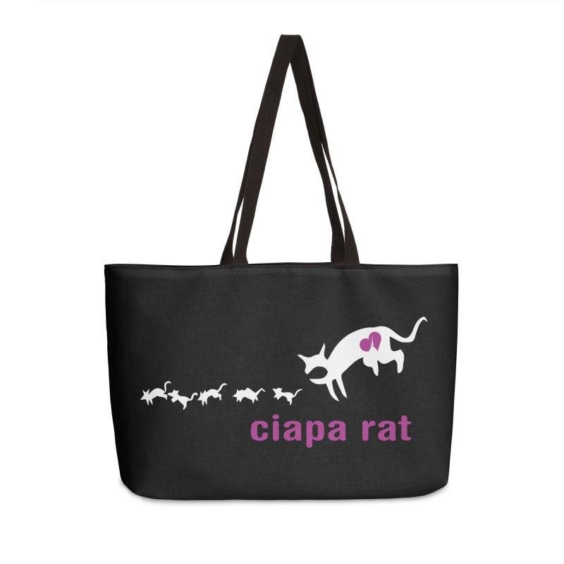 ciapa rat Accessories Weekender Bag Bag by Lospaccio Conamole
