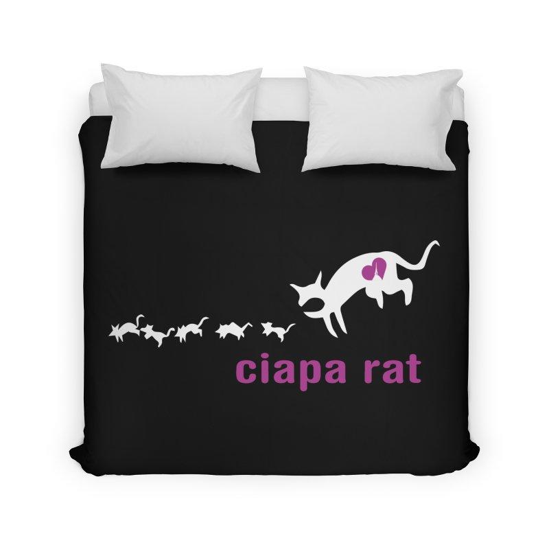 ciapa rat Home Duvet by Lospaccio Conamole