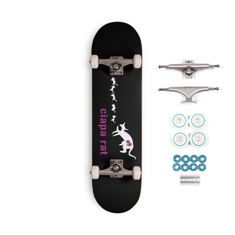 ciapa rat Accessories Complete - Basic Skateboard by Lospaccio Conamole