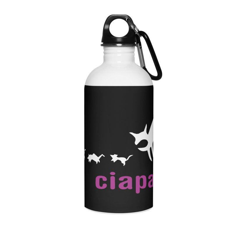 ciapa rat Accessories Water Bottle by Lospaccio Conamole