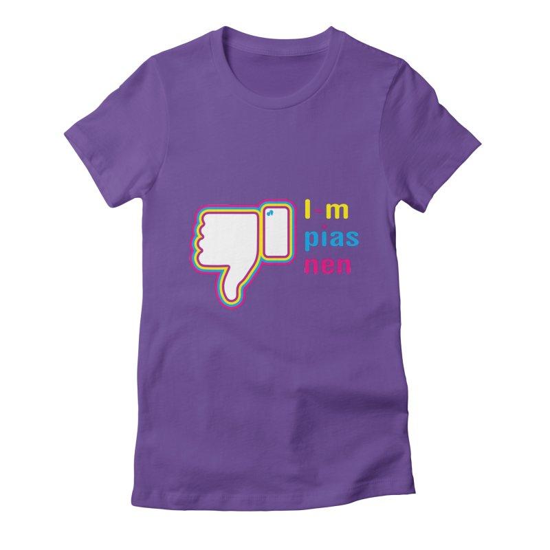 I-m pias nen Women's Fitted T-Shirt by Lospaccio Conamole