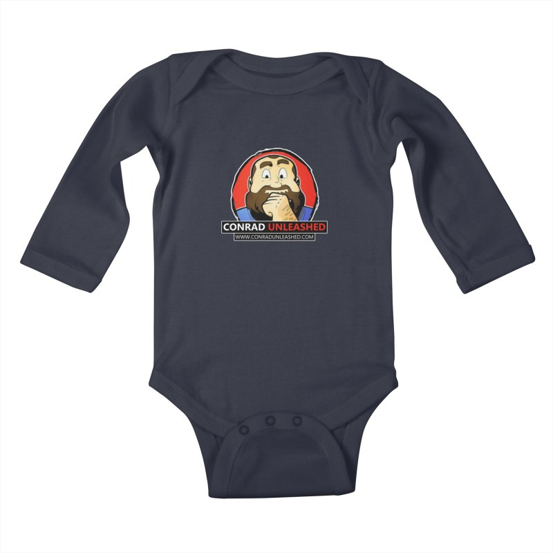 Conrad Unleashed Kids Baby Longsleeve Bodysuit by Conrad Unleashed Official Merch