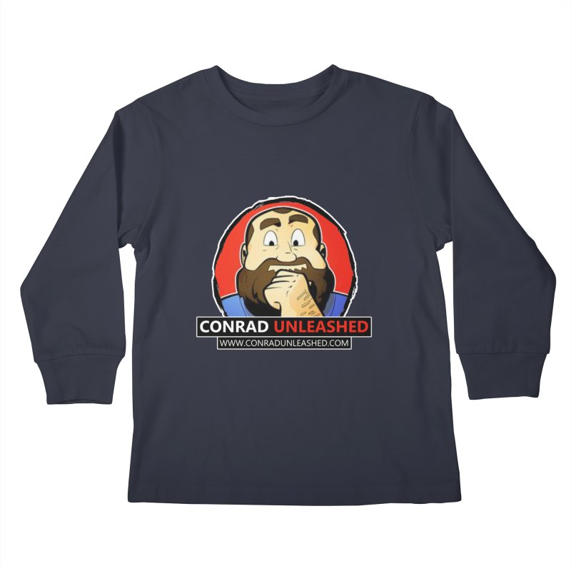 Conrad Unleashed Kids Longsleeve T-Shirt by Conrad Unleashed Official Merch