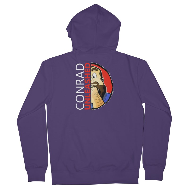 Conard Unleashed Half of Me Women's Zip-Up Hoody by Conrad Unleashed Official Merch