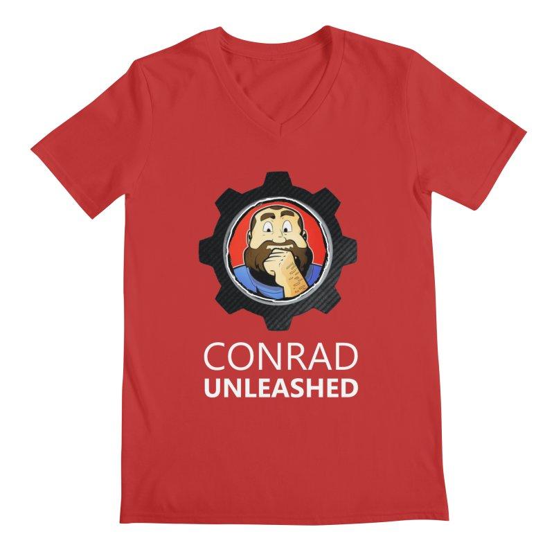 Conrad Unleashed Vault Men's V-Neck by Conrad Unleashed Official Merch