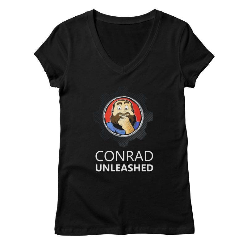 Conrad Unleashed Vault Women's V-Neck by Conrad Unleashed Official Merch