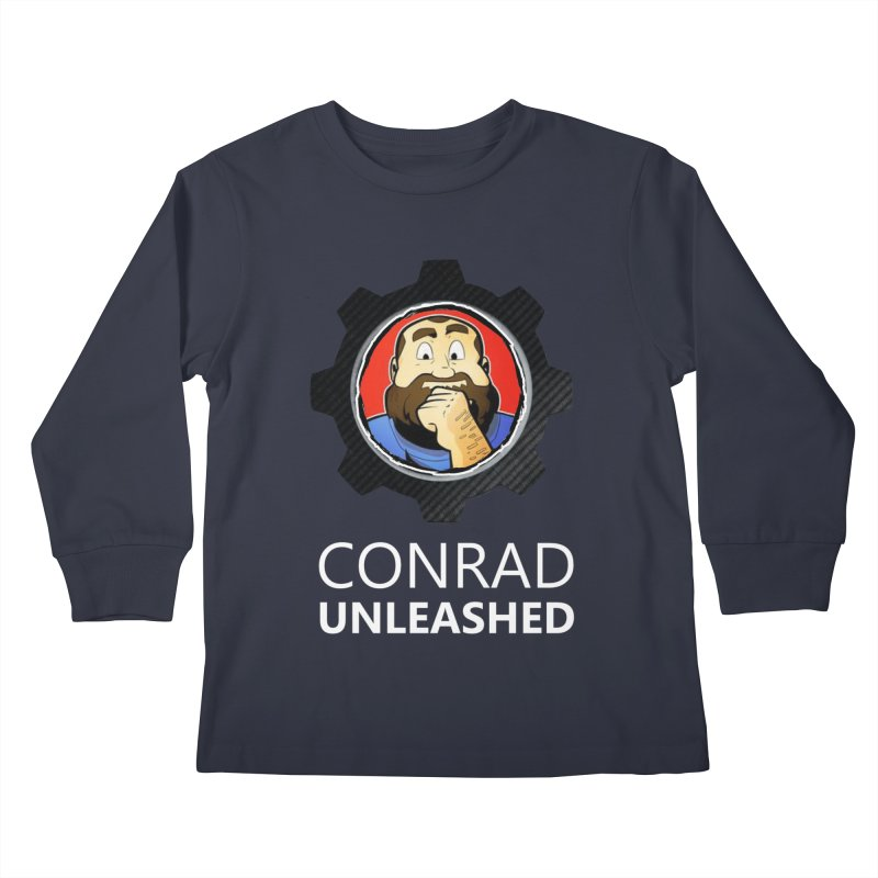 Conrad Unleashed Vault Kids Longsleeve T-Shirt by Conrad Unleashed Official Merch