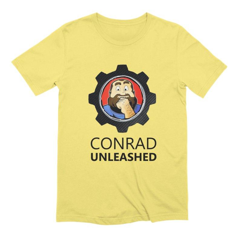 Conrad Unleashed Vault Dark Men's T-Shirt by Conrad Unleashed Official Merch