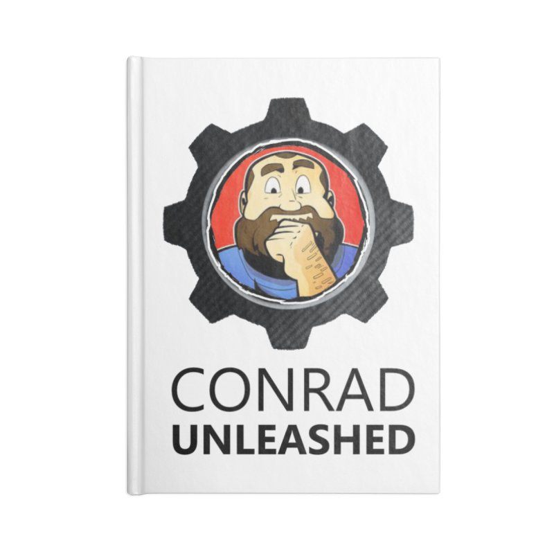 Conrad Unleashed Vault Dark Accessories Notebook by Conrad Unleashed Official Merch