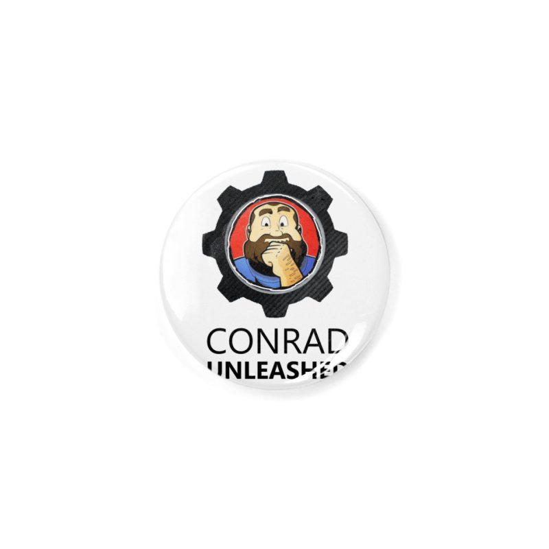 Conrad Unleashed Vault Dark Accessories Button by Conrad Unleashed Official Merch